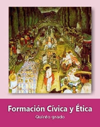 Formación Cívica y Ética quinto grado 2019-2020